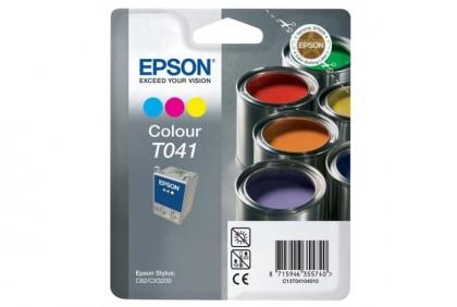 Originální cartridge EPSON T041 (Barevná)
