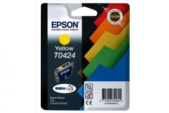 Originální cartridge EPSON T0424 (Žlutá)