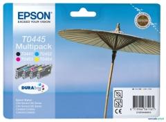 Sada originálních cartridge EPSON T0445 - obsahuje T0441-T0444