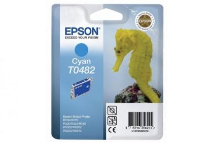 Originální cartridge EPSON T0482 (Azurová)