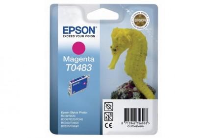 Originální cartridge EPSON T0483 (Purpurová)