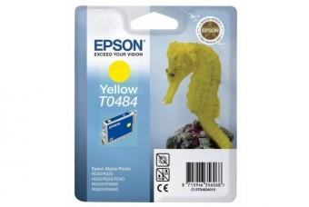 Originální cartridge EPSON T0484 (Žlutá)