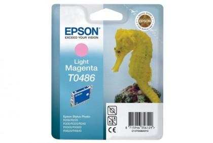 Originální cartridge EPSON T0486 (Světle purpurová)