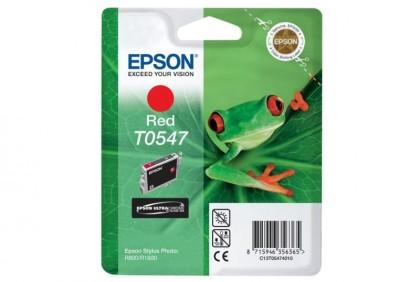 Originální cartridge EPSON T0547 (Červená)