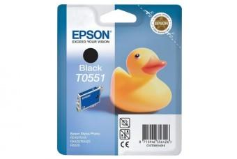 Originální cartridge EPSON T0551 (Černá)