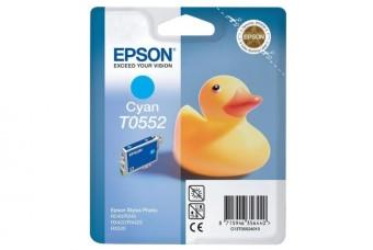Originální cartridge EPSON T0552 (Azurová)