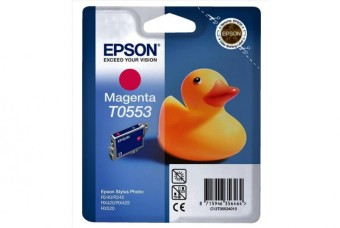 Originální cartridge EPSON T0553 (Purpurová)