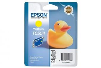 Originální cartridge EPSON T0554 (Žlutá)