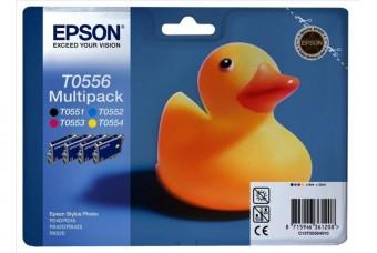 Sada originálních cartridge EPSON T0556 - obsahuje T0551-T0554