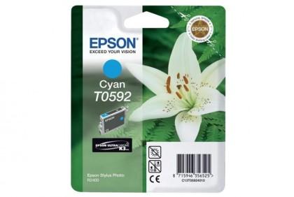 Originální cartridge Epson T0592 (Azurová)