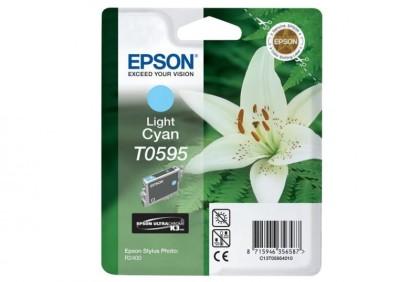 Originální cartridge Epson T0595 (Světle azurová)