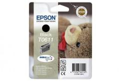 Cartridge do tiskárny Originální cartridge EPSON T0611 (Černá)