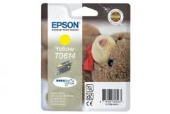 Cartridge do tiskárny Originální cartridge EPSON T0614 (Žlutá)