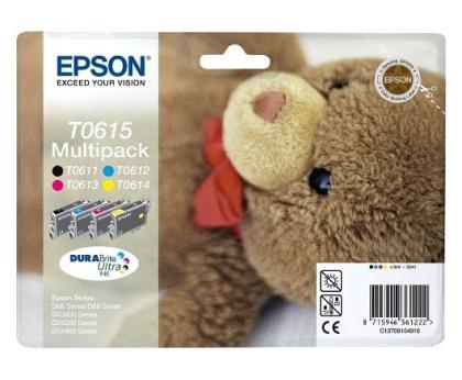 Sada originálních cartridge EPSON T0615 - obsahuje T0611-T0614