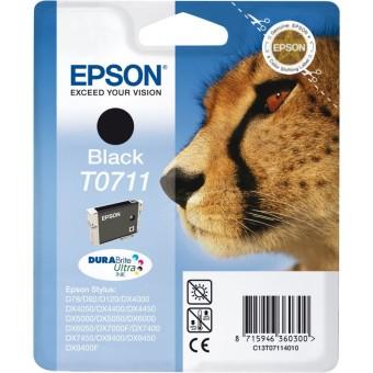 Originální cartridge EPSON T0711 (Černá)