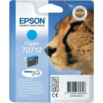 Originální cartridge EPSON T0712 (Azurová)
