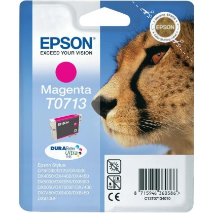 Originální cartridge EPSON T0713 (Purpurová)