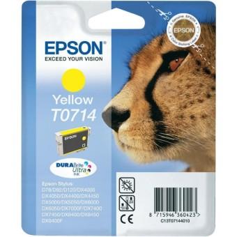 Originální cartridge EPSON T0714 (Žlutá)