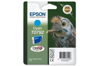 Originální cartridge EPSON T0792 (Azurová)