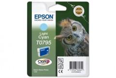Cartridge do tiskárny Originální cartridge EPSON T0795 (Světle azurová)