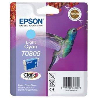 Originální cartridge EPSON T0805 (Světle azurová)