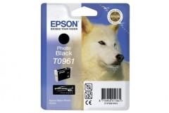 Cartridge do tiskárny Originální cartridge EPSON T0961 (Foto černá)