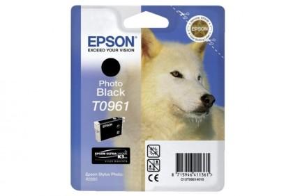 Originální cartridge EPSON T0961 (Foto černá)