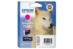 Cartridge do tiskárny Originální cartridge EPSON T0963 (Purpurová)