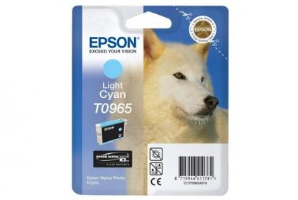 Originální cartridge EPSON T0965 (Světle azurová)