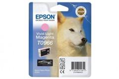 Cartridge do tiskárny Originální cartridge EPSON T0966 (Světle purpurová)