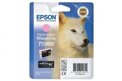 Originální cartridge EPSON T0966 (Světle purpurová)