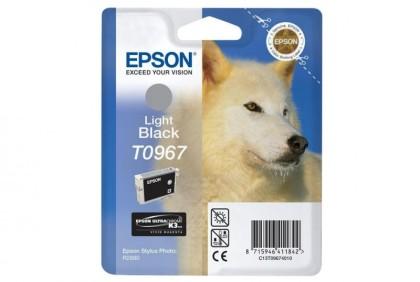 Originální cartridge EPSON T0967 (Světle černá)