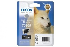 Cartridge do tiskárny Originální cartridge EPSON T0969 (Světle světle černá)