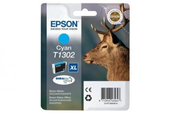 Originální cartridge EPSON T1302 (Azurová)