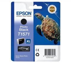 Cartridge do tiskárny Originální cartridge EPSON T1571 (Foto černá)