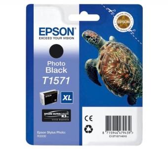 Originální cartridge EPSON T1571 (Foto černá)