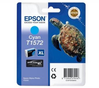 Originální cartridge EPSON T1572 (Azurová)