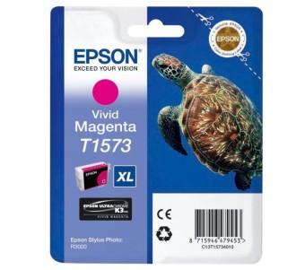 Originální cartridge EPSON T1573 (Živě purpurová)