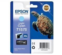 Cartridge do tiskárny Originální cartridge EPSON T1575 (Světle azurová)