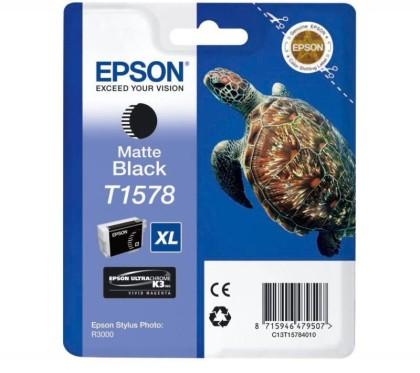 Originální cartridge EPSON T1578 (Matně černá)