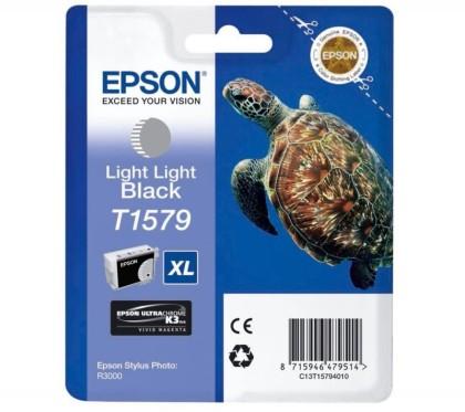 Originální cartridge EPSON T1579 (Světle šedivá)