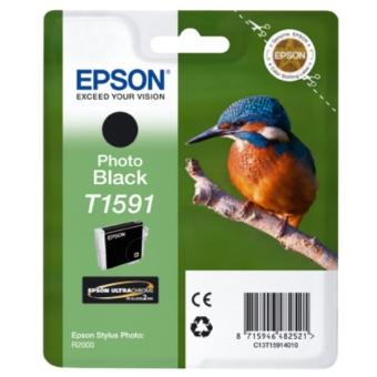 Originální cartridge EPSON T1591 (Foto černá)