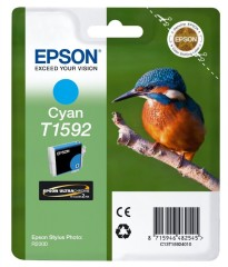 Cartridge do tiskárny Originální cartridge EPSON T1592 (Azurová)