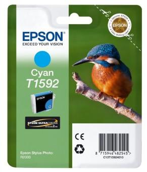 Originální cartridge EPSON T1592 (Azurová)
