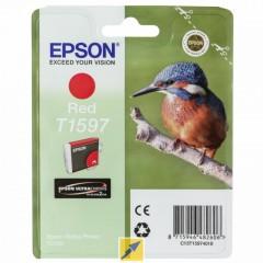 Cartridge do tiskárny Originální cartridge EPSON T1597 (Červená)