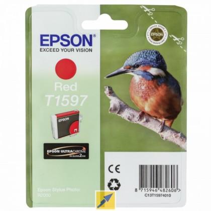 Originální cartridge EPSON T1597 (Červená)