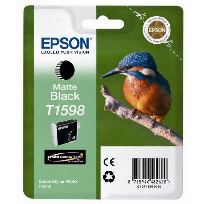 Originální cartridge EPSON T1598 (Matně černá)