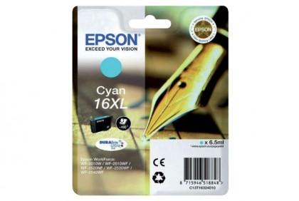 Originální cartridge EPSON T1632 (Azurová)