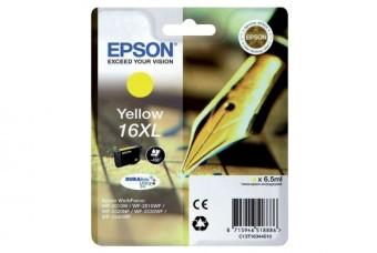 Originální cartridge EPSON T1634 (Žlutá)