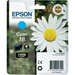Cartridge do tiskárny Originální cartridge EPSON T1802 (Azurová)